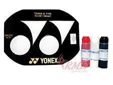 Yonex Racchetta da Tennis Stringa Stencil (100-130 POLLICI) & Yonex Stencil ink