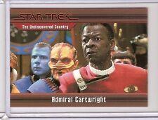STAR TREK HEROES & VILLAINS TRADING CARD ADMIRAL CARTWRIGHT # 32 - # 161 / 550 -