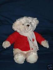 "Hallmark Christmas Bear Plush Toy 13½"""