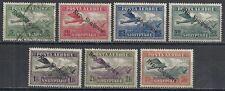 Albania stamps 1927 Mi 144-150 Mlh Vf