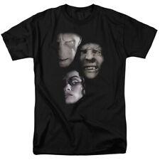 Authentic Harry Potter Movie Villain Heads Voldemort Bellatrix Lestrange T-shirt