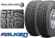 2 X Falken Wild Peak A/T3W LT315/70R17 E 121/118S All Terrain Any Weather Tires