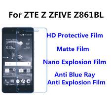 3pcs For ZTE Z ZFIVE Z861BL Matte/Nano Explosion/Anti Blue Ray Screen Protector