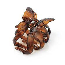 NUOVI Donna 9cm Farfalla Design Plastica Artiglio Per Capelli Fermaglio, MANOPOLE Accessori per Capelli
