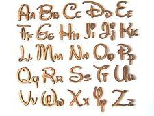 DISNEY in Legno Lettere Lettering parola Craft Carta fare Wall Art PORTA TARGA PERSONALIZZATA