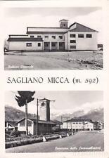 * SAGLIANO MICCA - Palazzo Comunale e Panorama Circonvallazione