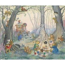 Teddy Bear Camp - Molly Brett Print