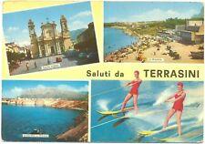 SALUTI DA TERRASINI - VEDUTINE (PALERMO) 1970