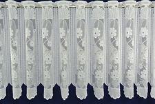 Scheibengardine,Bistrogardine,Meterware,Cafehausgardine,Ranke/W30/45/60/80/110cm