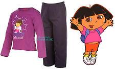 BNWT Official Nick Jr DORA THE EXPLORER Girls Pyjamas 1-5yr Long Sleeve/Leg PJ