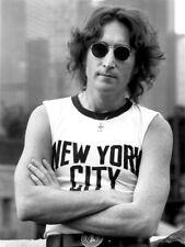 John Lennon Sunglasses New York City 1974 HUGE GIANT PRINT POSTER