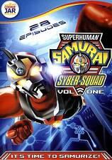 Superhuman Samurai Syber-Squad, Vol. 1 (DVD, 2013, 3-Disc Set)