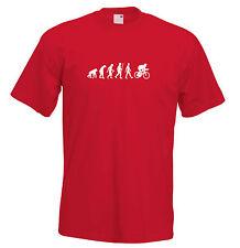 Mens evolution t shirt ape to man evolution t shirt cyclist evolution t shirt