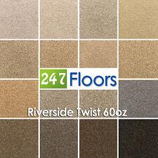 Riverside Twist Carpet, 80/20 Wool Twist Pile, Hessian Back High Quality Carpet