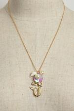 Women Fashion Mermaid Shells Charm Necklace Pendant Chain Casual Sea Life Cute