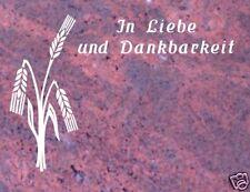 Grabsteine, Liegestein, inkl. Inschrift und Ornament