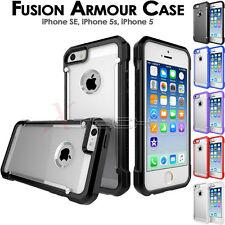 Apple iPhone SE 5s 5 [Fusion Armour] Premium Slim Hybrid Protective Case Cover