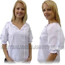 Ligera blusa 4 colores-xxxs-XXXL la edad media algodón Carmen edad media blusa
