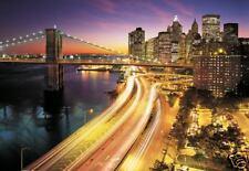 Fototapete Wandbild New York 8-516 368x254 Skyline City Highway Großstadt Metro