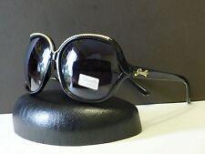 New Giselle Womens Vintage Retro Oversized Designer Sunglasses + Soft bag #22001