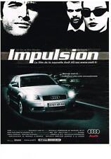 PUBLICITE ADVERTISING   2003     AUDI    A3   IMPULSION