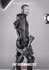 Los Indestructibles 3 la película Poster-Glen Powell-opción 12-A4 y A3