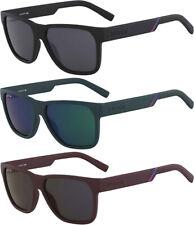 Lacoste Men's Matte Soft Square Polycarbonate Sport Sunglasses - L867S