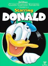 Classic Cartoon Favorites:Starring Donald (DVD MOVIE) BRAND NEW