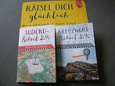 NEU Rätselheft  Sudoku Rätsel od. Kreuzworträtsel To Go  REISEZEIT Coppenrath