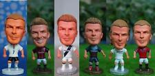 Toys Mini Figure Dolls Stars Soccer Players David Beckham Club Career