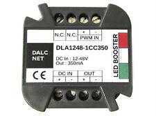 Dalcnet Easy Booster Led Amplificatore Segnale PWM DC 12V-48V CC 350mA DLA1248-1