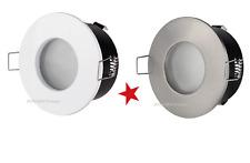 portafaretto incasso non orientabile alluminio corpo bianco o argento gu10-mr16