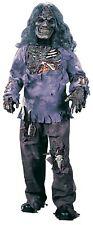 Complete Walking Zombie Halloween Costume Child Boys Girls Dead Skeleton SM-XL