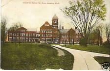 Old Photo Postcard Boys Industrial School Lansing Mi 08