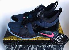 Nike PG2 Playstation Paul George 2 Zoom Air PS4 Noir Bleu 5 6 7 8 9 10 NEUF