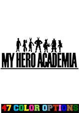 Vinyl Decal Truck Car Sticker Laptop - Anime My Hero Academia Logo Deku