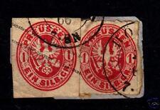 Preußen  GAA 15 Briefstück und Nr. 16    (D395)