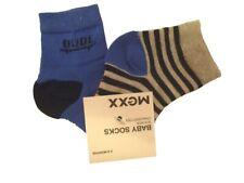 Bebé Calcetines 2 Pack Amparo Azul para niño por MEXX talla 2-6, 6-12, 12-18
