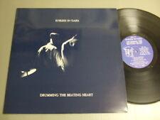 EYELESS IN GAZA CherryRed LP DRUMMING THE BEATING HEART