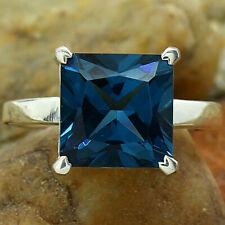 London Blue Topaz 925 Sterling Silver Ring Jewelry DGR1074_G