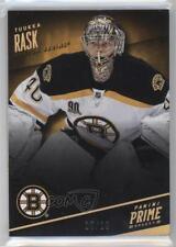 2013-14 Panini Prime Holo Gold #7 Tuukka Rask Boston Bruins Hockey Card