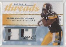 2008 SP Rookie Threads Jersey Number #RT-RM Rashard Mendenhall Football Card
