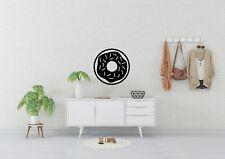 Donut Inspired Design Sprinkles Food Funny Wall Art Vinyl Decal Sticker