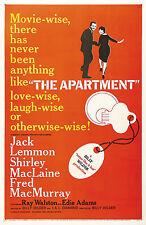 The Apartment Movie Poster 1960 Jack Lemmon Rare
