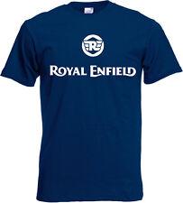 T-shirt logo ROYAL ENFIELD, moto , vintage, biker, motard, S, M, L, XL, NEUF