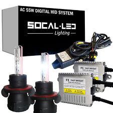 SOCAL-LED AC 55W 9008 H13 BI-XENON HID Kit Headlight Conversion Bright w/ Relay