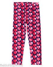 NWT Gymboree Valentine's Day Heart Legging 4 5 7 8 10 12 Fun at heart Girls