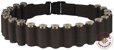 Shotgun Shell Belt Pouch 12 ga Leather Bandolier Cartridge Ammo Case Bandoleer