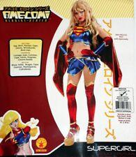 SUPERGIRL Anime AmeComi DC COMICS JUSTICE LEAGUE Superhero WOMENS COSTUME New