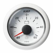 VDO-ViewLine Amperemeter Ø52mm -60A/+60A- -150A/+150A 8-32V 60mV schwarz oder we